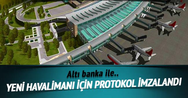 İstanbul'un yeni havalimanı finansmanı için teyit protokolü imzalandı