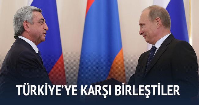 Türkiye'ye karşı birleştiler
