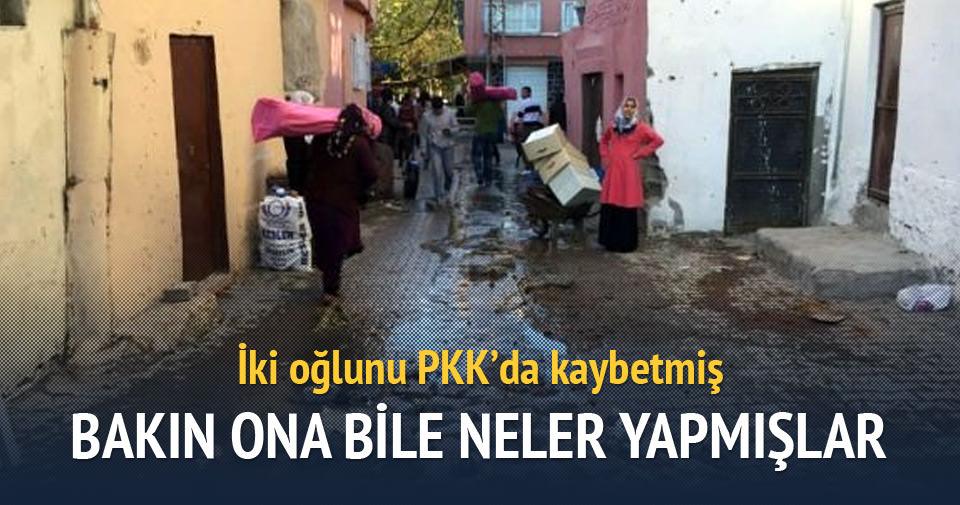 İki oğlu PKK'da ölen adamın YDG-H'lilere isyanı
