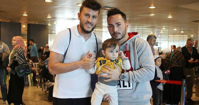 Trabzonsporlu futbolcu umreye gitti