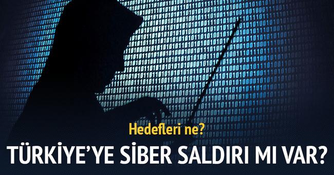 Siber saldırı mı var?