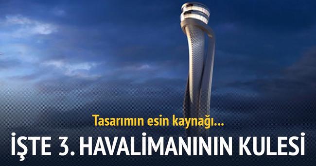 Yeni havalimanının kule tasarımı belli oldu