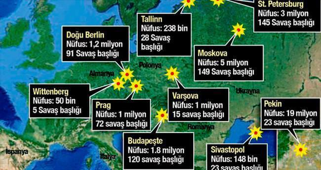 1200 kente atom bombası atılacaktı