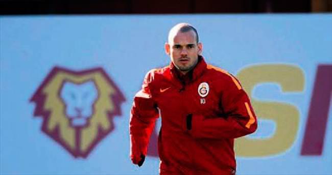 Kayseri'de Sneijder yok!