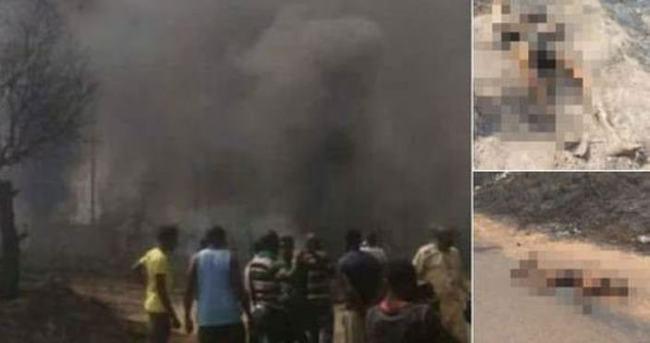 Petrol fabrikasında patlama: 100'den fazla ölü...