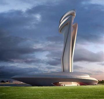 3. Havalimanına muhteşem kule