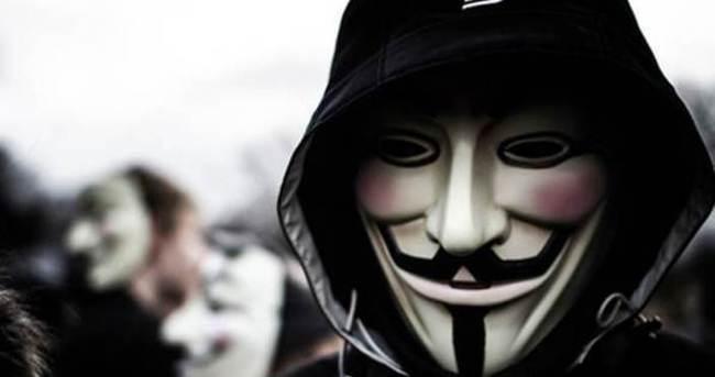 Siber saldırıları Anonymous üstlendi