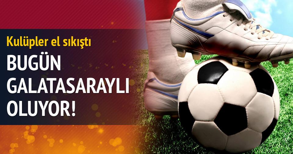 Yıldız futbolcu bugün Galatasaraylı oluyor!