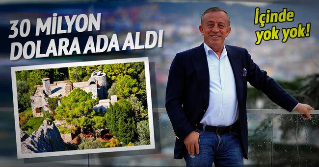 Ali Ağaoğlu'nun da artık bir adası var