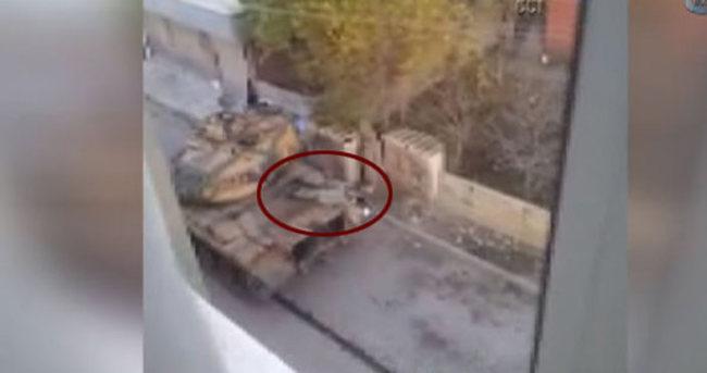 Asker yaralanan polisin üzerine yatarak siper oldu