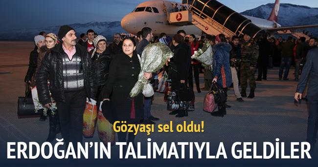 Erdoğan'ın talimatıyla Erzincan'a geldiler