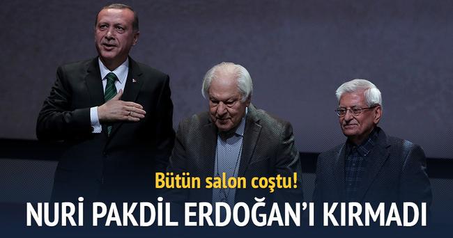 Nuri Pakdil Erdoğan'ı kırmadı!