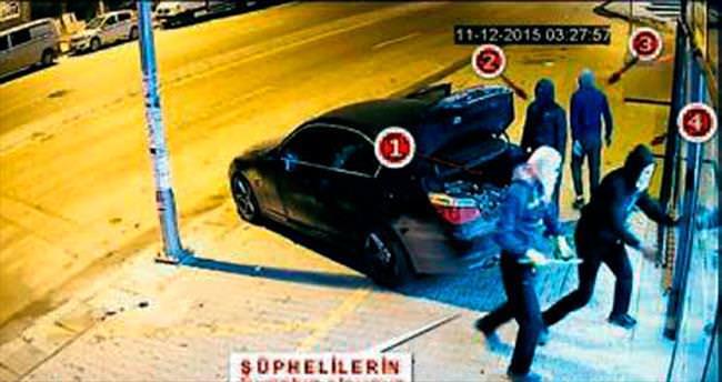 BMW'li hırsızlara operasyon