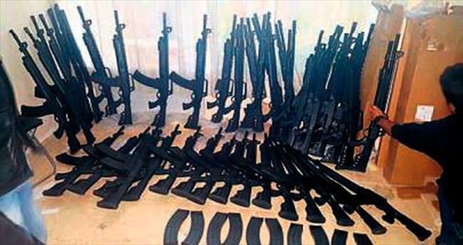 Torbalı'da 257 adet tüfek ele geçirildi