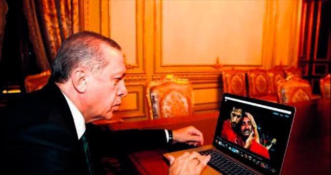 Cumhurbaşkanı Erdoğan'ın oyu Milli Takım'a
