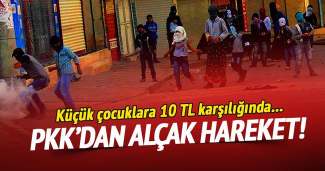 PKK 10 TL karşılığında molotofkokteyli hazırlatıyor!