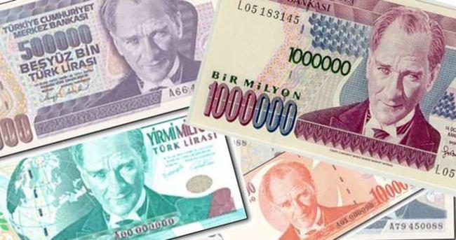6 sıfırlı banknotları iade etmek için son gün: 31 Aralık