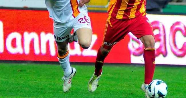 Kayserispor - Galatasaray 39. kez...