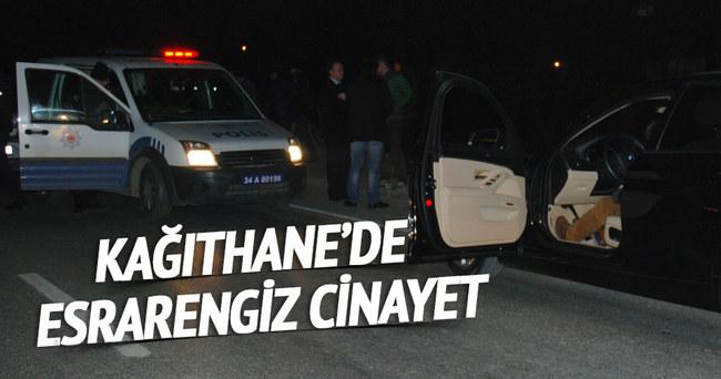 Kağıthane'de cinayet! Lüks otomobilin içinde ölü bulundu