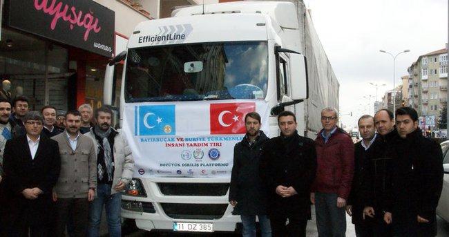 İHH'dan Bayırbucak Türkmenlerine yardım!