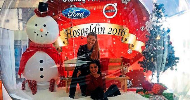 Kar keyfi Antalya'ya Otokoç ile geliyor