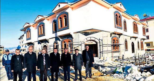 Büyükşehir'den Göksun'a tesis