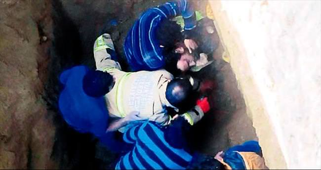 Kanalizasyonda göçük: 1 işçi öldü