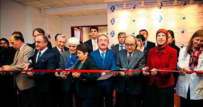 Bakan Ramazanoğlu sağlık ünitesini açtı