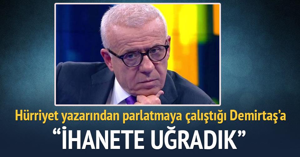 Ertuğrul Özkök'ten Demirtaş'a: Hayal kırıklığına uğrattın