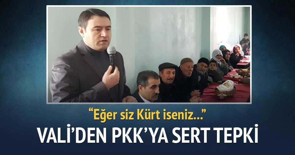 Ağrı Valisi Işın'dan PKK'ya sert tepki