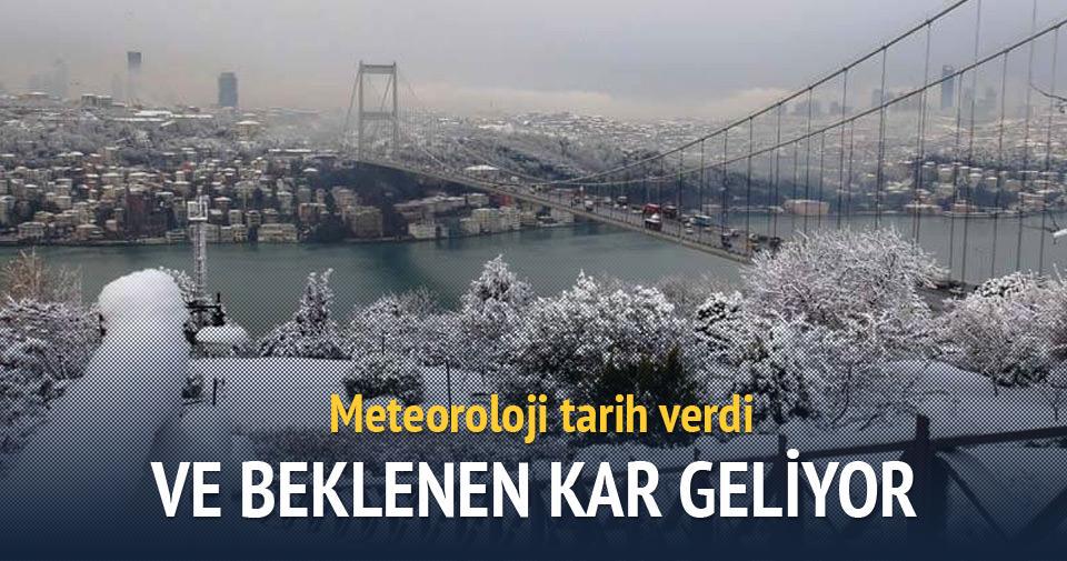 Marmara'ya kar ne zaman gelecek?
