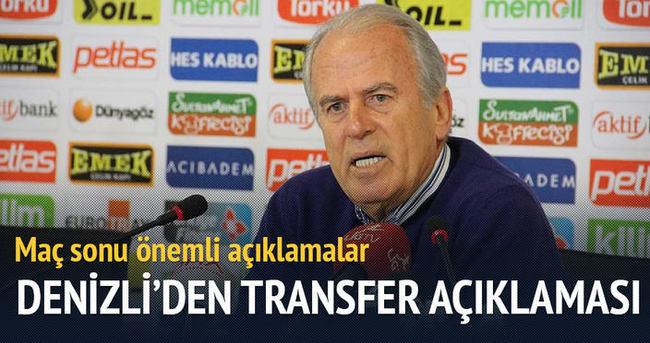 Mustafa Denizli: Hamleleri bugünden yapmak niyetindeyiz