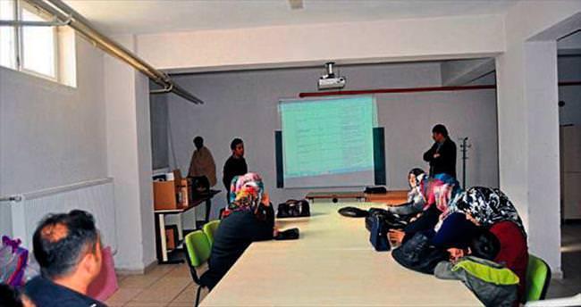 Korkuteli'de Mantar yetiştiriciliği kursu