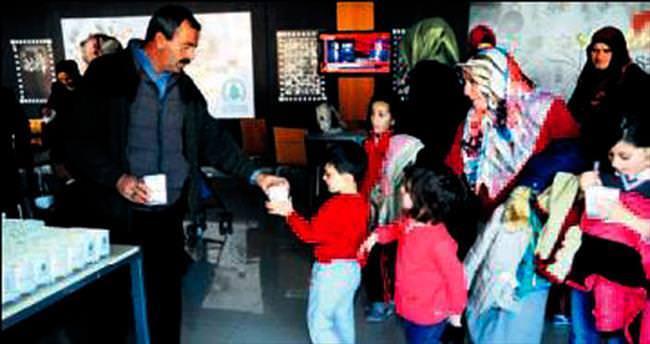Pursaklar'da 665 çocuk film izledi