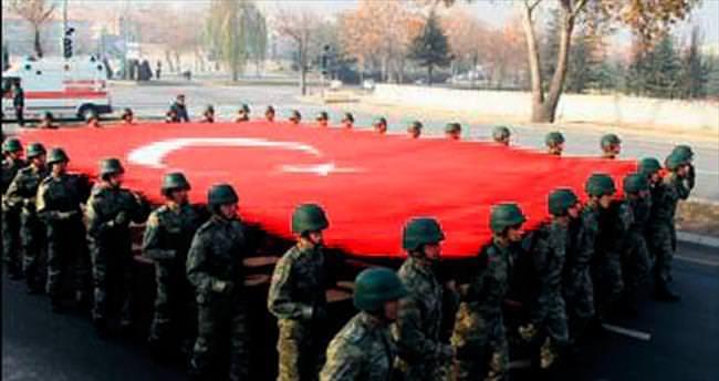 Asker ata için Ankara'da koştu