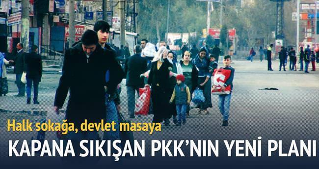 Halk sokağa, devlet masaya