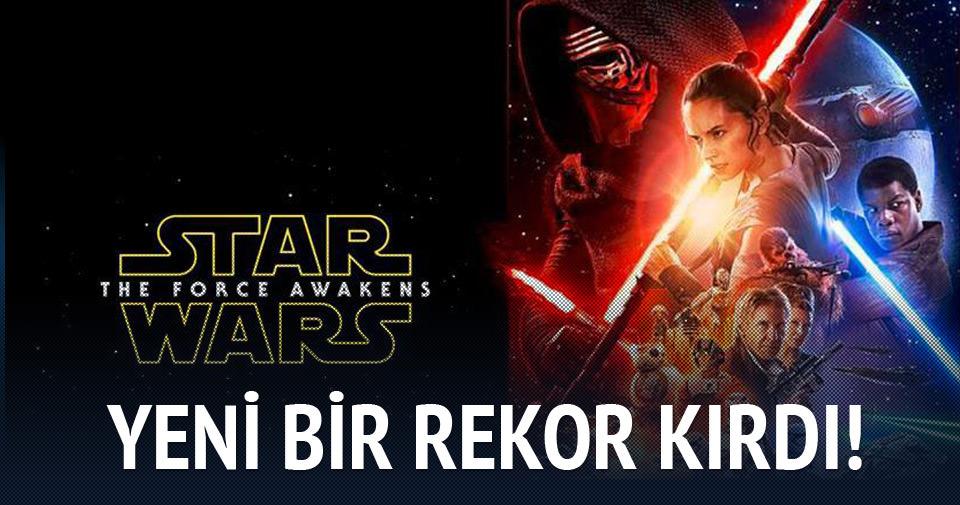 'Star Wars 7: Güç Uyanıyor'dan yeni hasılat rekoru