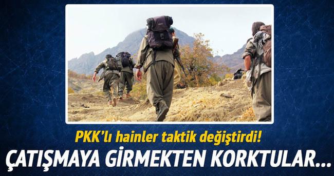PKK'lı hainler taktik değiştirdi!