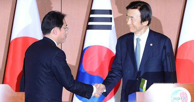 Japonya ve Güney Kore anlaşmaya vardı