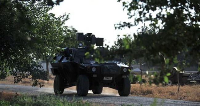 Diyarbakır'da zırhlı araca roketatarlı saldırı