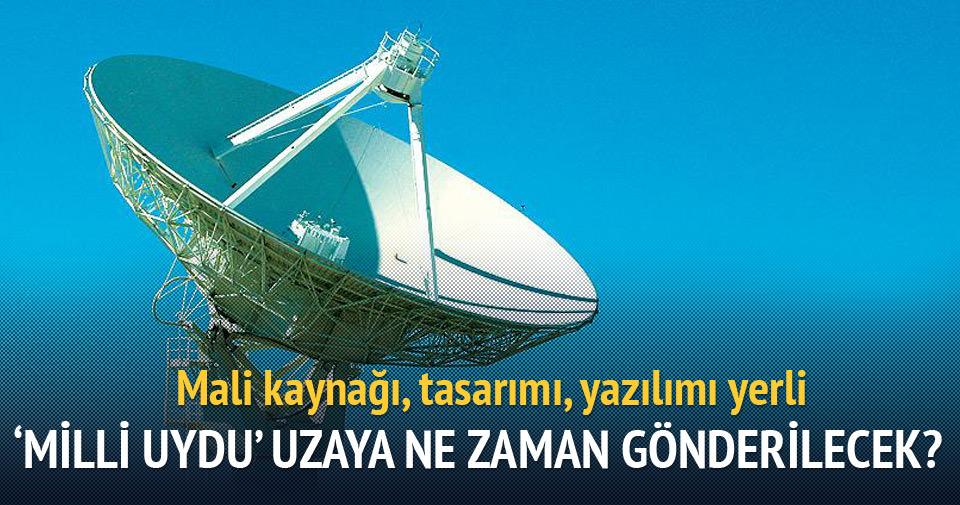 'Milli uydu' 2020'de uzaya gönderilecek