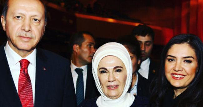 Cumhurbaşkanı Erdoğan ve eşinden Özlem Balcı'ya büyük övgü