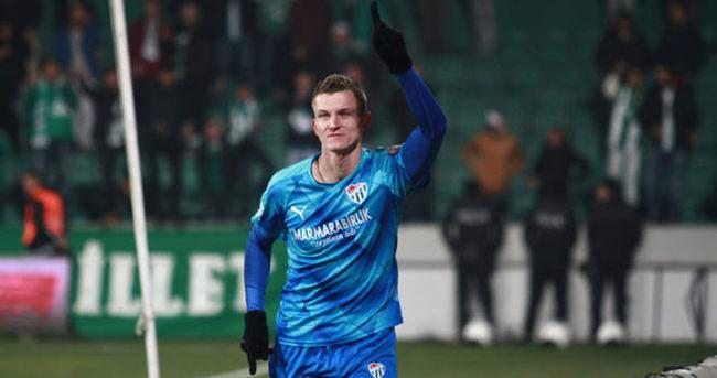 Bursaspor'da gollerin yarısı Necid'den