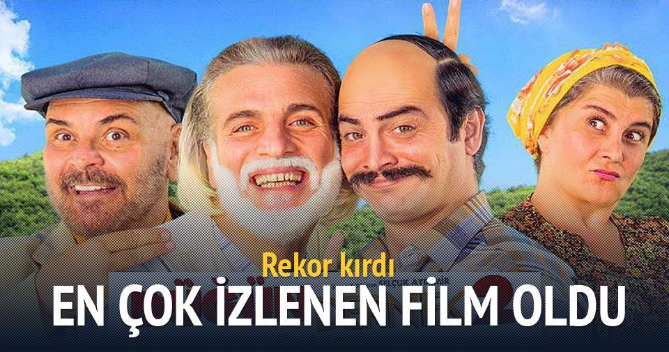 En çok izlenen film 'Düğün Dernek 2: Sünnet' oldu