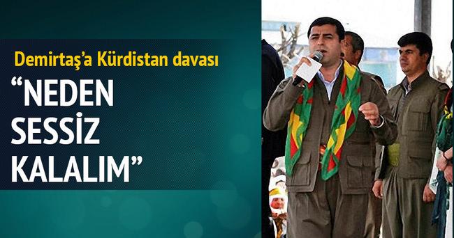 Demirtaş'a Kürdistan davası