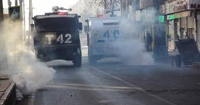Diyarbakır'da izinsiz yürüyüşe müdahale