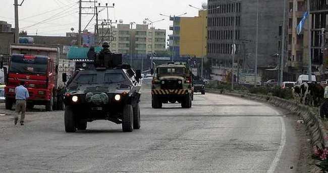 Şırnak'a askeri sevkiyat