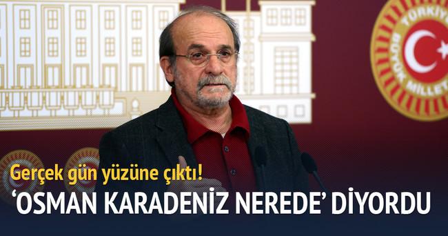 Osman Karadeniz Nerede? yalanı