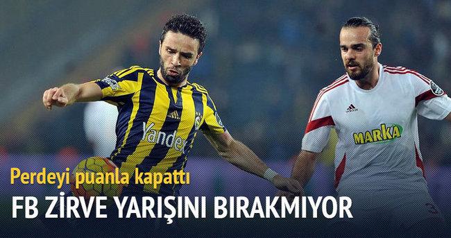 Fenerbahçe uygun adım