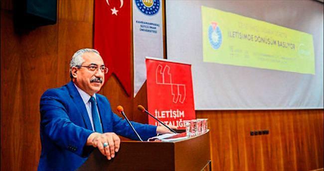 KSÜ'de İletişim Ustalığı Zirvesi gerçekleşti